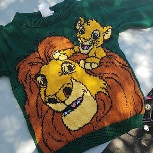 90's Lion King Sweater
